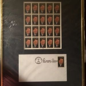 Other - First Day Cover/Stamp Collectible:  Ronald Reagan